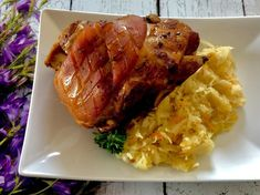 Golonka po bawarsku - Blog z apetytem Tandoori Chicken, Pork, Turkey, Yummy Food, Meat, Cooking, Ethnic Recipes, Blog, Joker