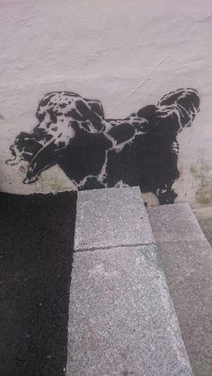 Møllensdalveien 63a Bergen, Street Art