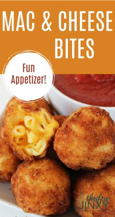 air fryer recipes This Fried Macaroni and Cheese Bites Recipe is perfect as a party appetizer or a game day snack. Its gooey and cheesy on the inside and crispy and crunchy on the outside. Make them in a skillet, deep fryer or air fryer. Air Fryer Recipes Wings, Air Fryer Recipes Appetizers, Air Fryer Recipes Vegetables, Air Fryer Recipes Vegetarian, Air Fryer Recipes Low Carb, Air Fryer Recipes Breakfast, Air Fryer Dinner Recipes, Appetizers For Party, Meat Appetizers