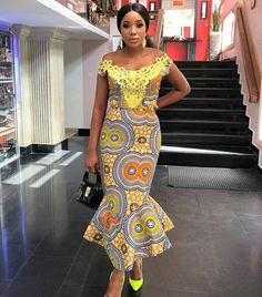trendy Ankara Styles are the most beautiful pieces of clothing. Ankara Styles is one of the hottest African fashion you need to wear. African Inspired Fashion, African Dresses For Women, African Print Dresses, African Print Fashion, African Attire, African Wear, African Fashion Dresses, African Women, African Prints