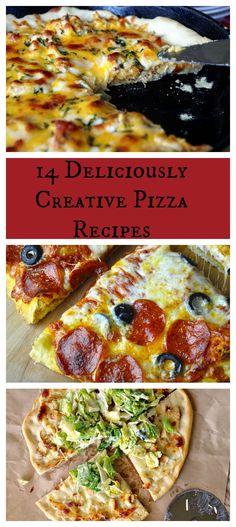 14 Deliciously Creative Pizza Recipes