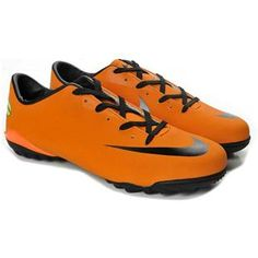 2012 Nike Mercurial Victory III TF Soccer Shoes Mango Gray5 6a286e1df56c1