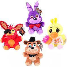 $9.45 (Buy here: https://alitems.com/g/1e8d114494ebda23ff8b16525dc3e8/?i=5&ulp=https%3A%2F%2Fwww.aliexpress.com%2Fitem%2F1pc-10-Five-Nights-At-Freddy-s-4-FNAF-Freddy-Fazbear-Bear-bonnie-foxy-stuffed-animals%2F32590189355.html ) 1pc 10'' 25cm New Five Nights At Freddy's 4 FNAF Freddy Fazbear Bear bonnie foxy Stuffed Freddy Fazbear PlushToys Doll Kids Gift for just $9.45
