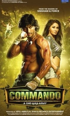 http://www.clickoncart.com/Commando-DVD starcast 	: 	Vidyut Jamwal, Pooja Chopra, Jaideep Ahlawat director 	: 	Dilip Ghosh producer 	: 	Vipul Shah music_director 	: 	Prasad Sasthe genre 	: 	Action format 	: 	DVD label 	: 	Reliance Home Entertainment language 	: 	Hindi year 	: 	2013 Discs 	: 	1 subtitle 	: 	English region 	: 	Region Free audio 	: 	5.1 Dolby Digital rating 	: 	U/V