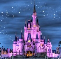 1000 images about cinderella 39 s castle on pinterest for Cinderella castle wall mural