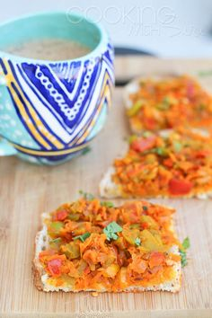 [Quick Snack #Recipe] Iyengar Bakery Style Vegetable Masala Bread Toast --> http://www.cookingwithsiri.com/2015/08/quick-monsoon-recipe-iyengar-bakery.html