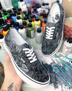 a48ab8dbab56 Would you wear these awesome shoes  Repost by Monochromatic feels.