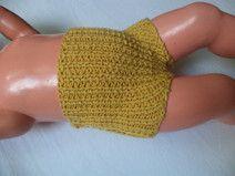 kurze Babyhose Wolle 50/56 Merino