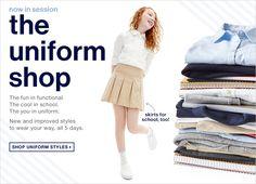 the uniform shop Gapkids