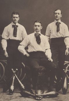 Circus Jugglers The Three Groegs circa 1905 by redpoulaine on Etsy, $24.00