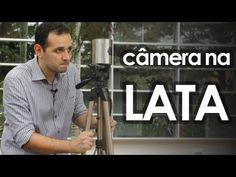▶ Câmera fotográfica pinhole de lata (experiência de física) - How to make pinhole camera - YouTube