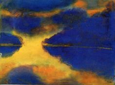 Emil NoldeEmile Nolde (German~Danish 1867~1956) | He was one of the first Expressionists, a member of Die Brücke.Artist Emile NoldeFosterginger.Pinterest.ComMore Pins Like This One At FOSTERGINGER @ PINTEREST No Pin Limitsでこのようなピンがいっぱいになるピンの限界