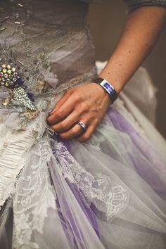 Star Wars, Video Games & A Geek Chic Themed Wedding: Jane & Neil Fox Wedding, Star Wars Wedding, Geek Wedding, Dream Wedding, Wedding Day, Fantasy Wedding, Purple Wedding Gown, Wedding Dresses, Boho Garden Party