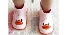 Kids will take to puddles like ducks to water in Mini Melissa boots #Girls, #Gumboots, #MiniMelissa, #Shoes, #Winter