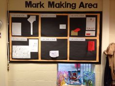 The beginnings of my Mark making display in FS2