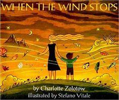 When The Wind Stops: Charlotte Zolotow, Stefano Vitale: 9780064434720: Amazon.com: Books