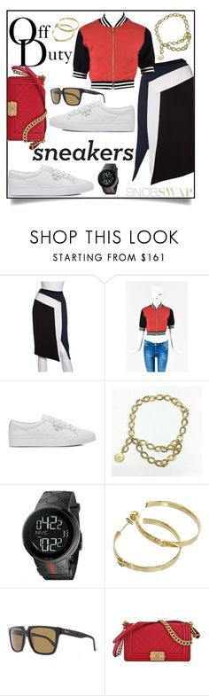 """Off Duty"" by snobswap ❤ liked on Polyvore featuring Peter Pilotto, Moschino, Tory Burch, Chanel, Gucci, Chaumet and Salvatore Ferragamo"