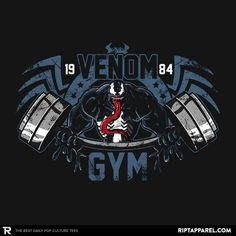 Venom Gym - Visit now to grab yourself a super hero shirt today at 40% off!