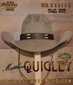 Cowboy hats. Our beaver cowboy hats are made by hand in the USA starting  with 5bec69c08639