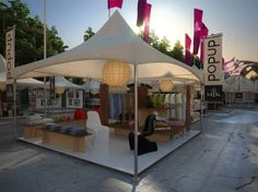 Pop Up Store At Music To Know Music Festival