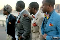 Bow ties and pocket squares by My Africanista Photographer: Bola Okoya of Triibe Nation