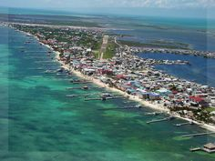 Belize-Ambergriscaye, a small island off the coast.  Going back in less than a month for second trip.   Can't wait!  If you want laid back, this is for you.  Love, Love, Love this place!