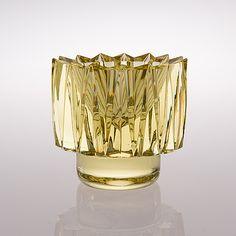 AIMO OKKOLIN, KRISTALLIMALJA, Kruunu. Signeerattu Aimo Okkolin, Riihimäen Lasi Oy. Glass Vessel, Glass Art, Glass Design, Design Art, Spirited Art, Vintage Candles, Mid Century Art, Gemstone Colors, Scandinavian Design
