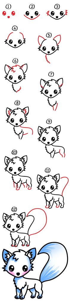 Learn how to draw a cute arctic fox! Grab a marker, paper, and colored pencils then follow along with me. Even though this lesson may look complicated for younger artists, remind them to focus on one step at a time. Have fun and don't worry about making your drawing look exactly like mine. When your …