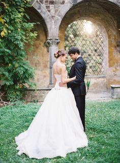 Royal-worthy: http://www.stylemepretty.com/2015/04/28/princess-worthy-wedding-dress-trains/