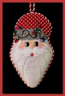 JCZ Designs - Christmas Light Santa