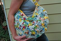 Purse made from Plastic bags