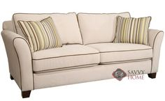 Cornell Queen Sleeper Sofa by Fairmont Designs at Savvy Home. $1,349.00