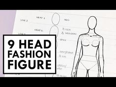 How to draw fashion sketches - YouTube