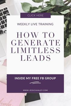 Learn how you can generate limitless leads by utilizing social media to super charge your business and boost your bottom line! Join my free facebook group for Live weekly trainings to maximize your online business and social media marketing. See you there!! #tuesdaytraining #freetraining #onlinebusiness #businesstips #pinterestmarketing #onlinebusinesstips Online Marketing Strategies, Marketing Goals, Email Marketing Strategy, Marketing Automation, Business Marketing, Business Tips, Social Media Marketing, Online Business, Marketing Ideas
