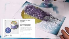 Jalandhar in the Glittery Sea - A Lavinia Stamps Tutorial Magic Tutorial, Lavinia Stamps Cards, Video Page, Brusho, Magical Creatures, Scrapbooking, Creative Art, Stencils, Card Making