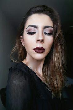 Dark diva makeup by Denia Uriarte