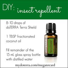 DIY Non-Toxic Insect Repellent with doTERRA Essential Oils
