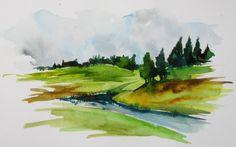 paysage by mousse-tache.deviantart.com on @DeviantArt