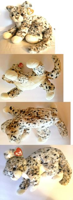 b03c85dbe7d Retired 19207  Ty Beanie Buddy Thomas The Leopard Cat Brand New With Hang  Tag And
