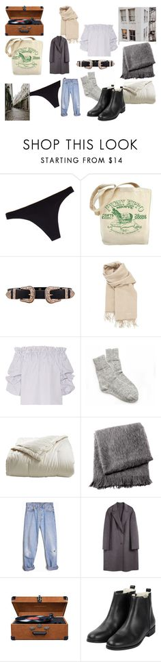 """""""Untitled #8"""" by tammiunnie ❤ liked on Polyvore featuring Chantelle, B-Low the Belt, Hermès, Caroline Constas, Holy Lamb Organics, From the Road, Levi's, Prada, Sofie D'hoore and Crosley Radio & Furniture"""