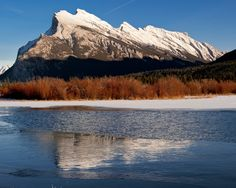 Rundle and Vermillion Lakes in spring Canadian Rockies, Event Photography, Banff, How Beautiful, Calgary, Nifty, To Go, Romantic, Places