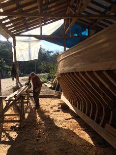 Kurucaşile made wooden boat
