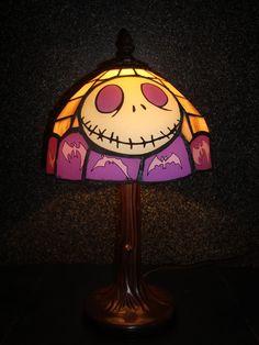 Jack Skellington lamp of awesomeness