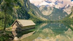 "Mountain lake - Lake ""Obersee"" - Bavaria"
