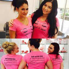 On Wednesdays we wear pink!! #pink #lash #lashoholic #lashaddiction #full #luscious #lashes #beautiful #confidence #az #studio #tempe