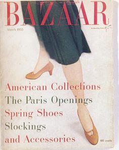 :: March 1955 Harper's Bazaar, Art Director Alexey Brodovitch