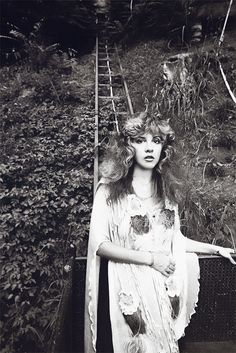 Stevie in Laurel Canyon 1981 (photo Neal Preston)