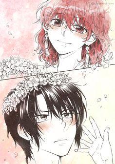 Awww Akatsuki No Yona, Anime Akatsuki, Manga Boy, Anime Manga, Anime Art, Miyazono Kaori, The Kingdom Of Magic, Dragon Warrior, Tokyo Mew Mew