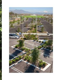 Ken Smith Landscape Architect- orange county great park parking lot                                                                                                                                                                                 More