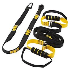 Home Gym Total Body Aerobic Suspension Trainer Resistance & Strength Training Straps